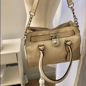 Michael Kors off white purse